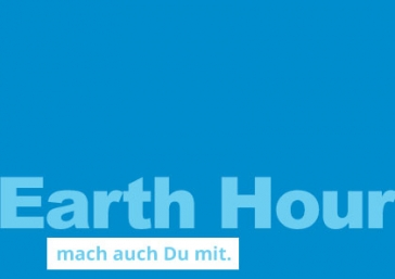 Earth Hour 2018 in Frankfurt am Main #Klimaschutz